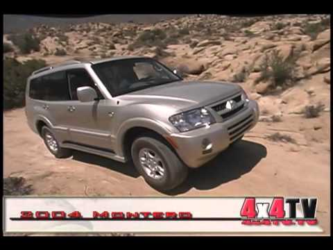 4x4TV Test - 2004 Mitsubishi Montero