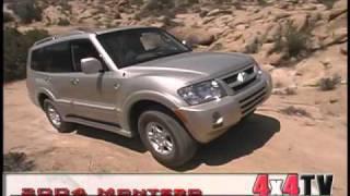 4x4TV Test - 2004 Mitsubishi Montero