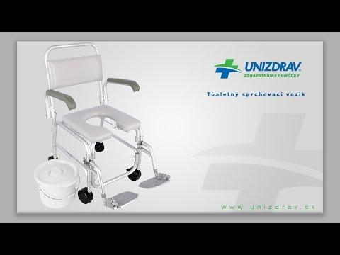 Toaletný sprchovací vozík - VIDEOMANUÁL