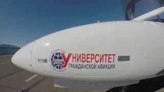 Flights. Begishevo airport 2015 . Aircraft Da-42. Полеты. Бегишево 2015.