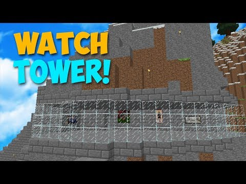 CREATING MY SECRET WATCH TOWER! - Modded Factions Episode 11
