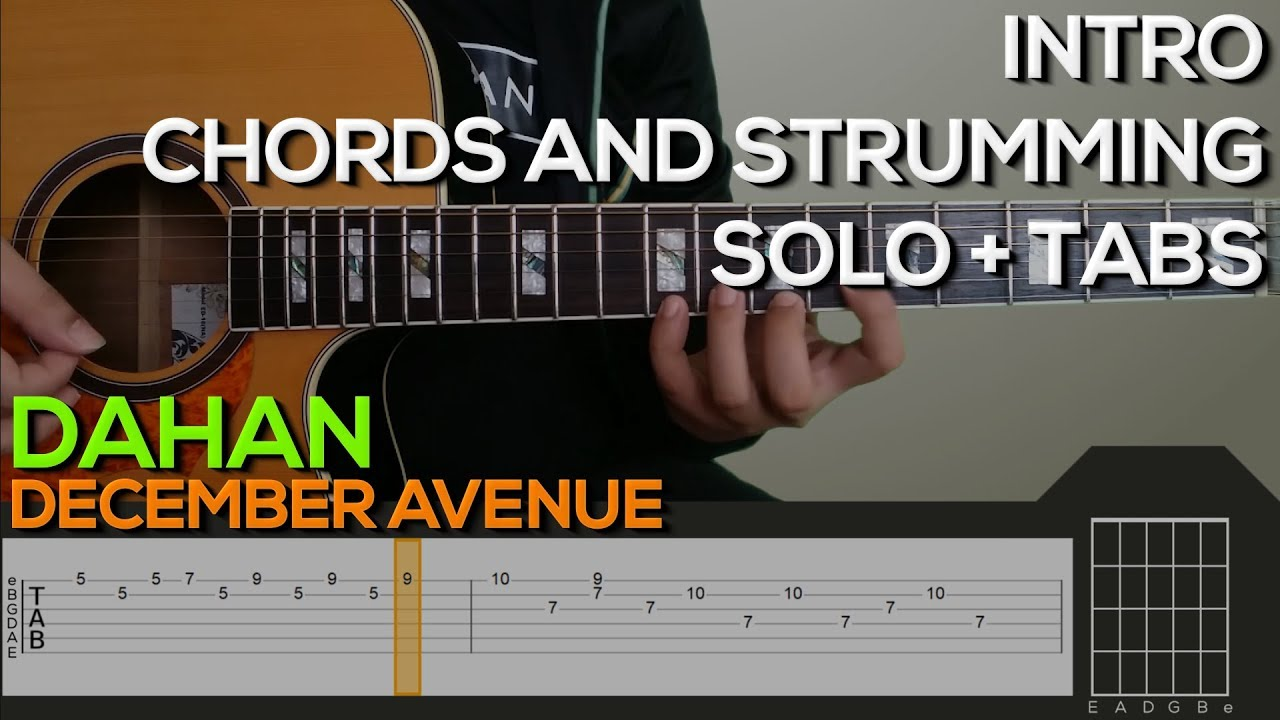 December Avenue Dahan Guitar Tutorial Intro Chords And Strumming