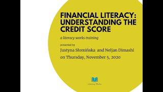 Financial Empowerment Understanding the Credit Score