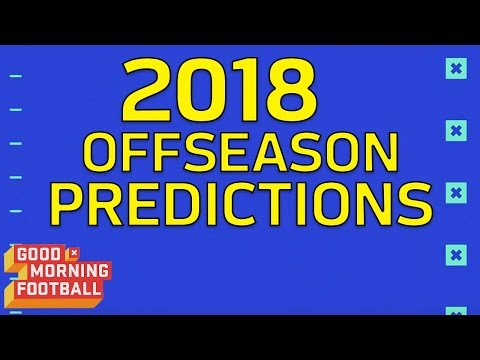 2018 NFL Offseason Predictions: Calvin Johnson Comes Out of Retirement?   GMFB   NFL Network