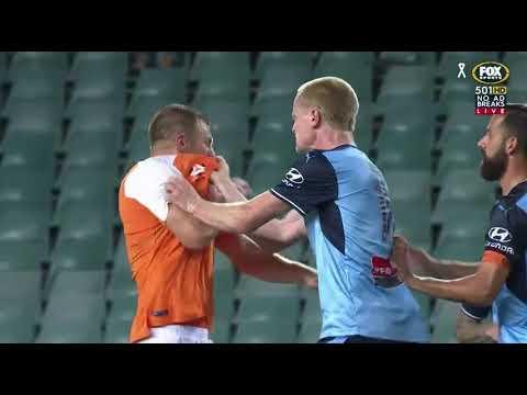 Sydney FC VS Brisbane Roar Round 8 2017/18 Highlights
