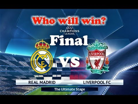 Real Madrid vs Liverpool | UEFA Champions League 2018 Final | PES 2018 Gameplay HD