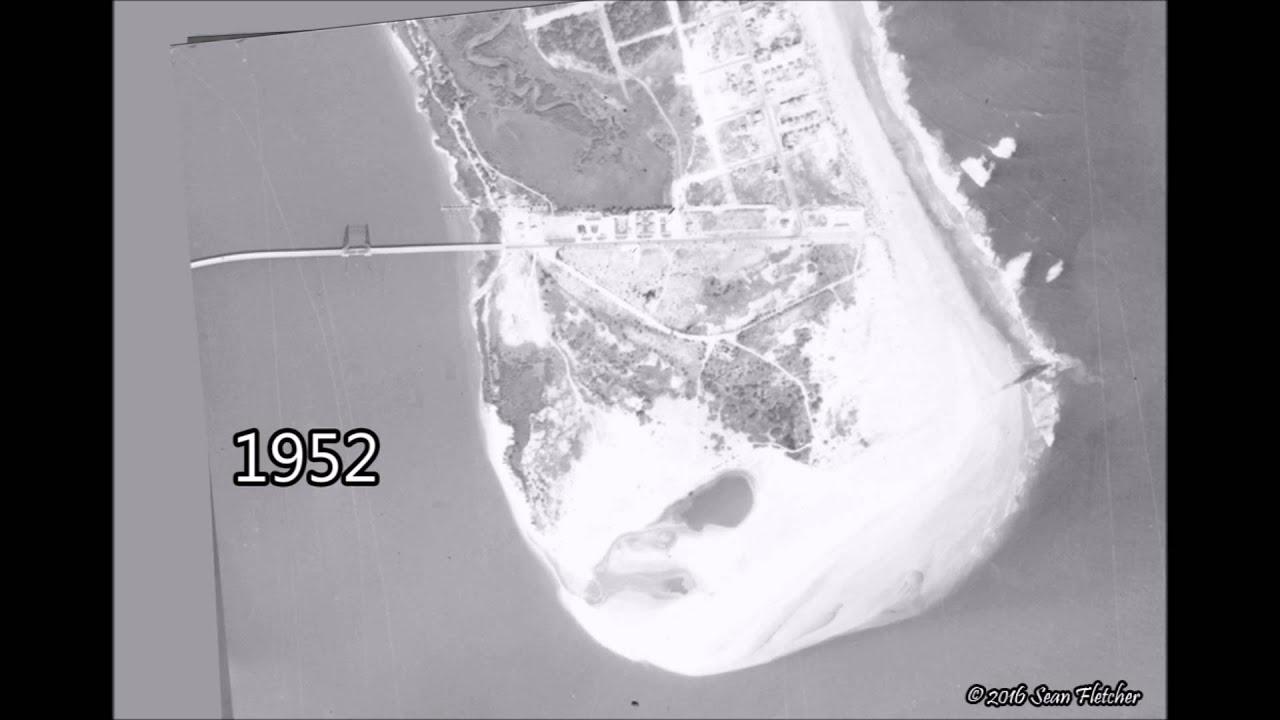 Vilano Beach & Porpoise Point Evolution - YouTube