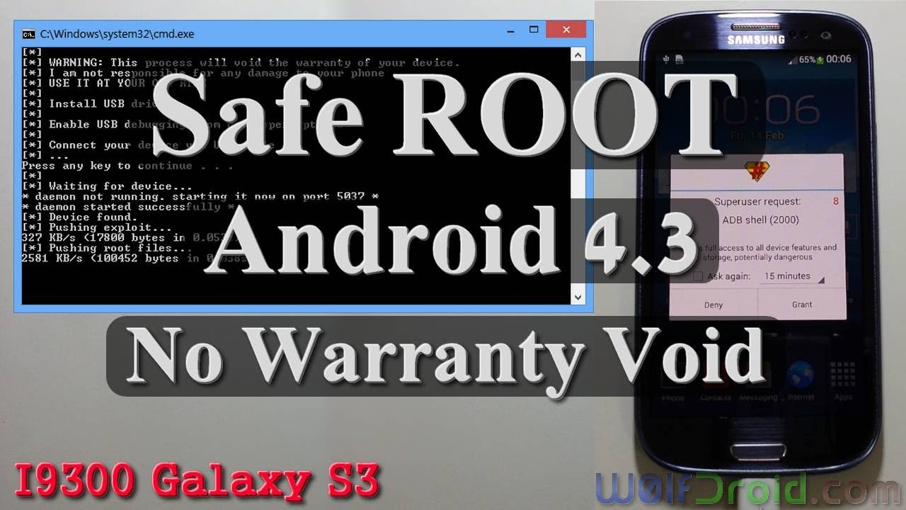 No Warranty Void] Root Android 4 3 for Samsung Galaxy S3 GT