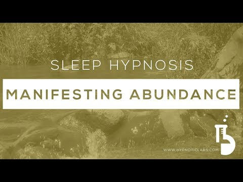 Sleep Hypnosis for Attracting Abundance and Removing Money B