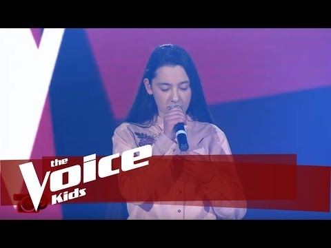 Alesja - Skinny Love  Audicionet e Fshehura  The Voice Kids Albania 2019