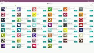 Een nieuwe app installeren in Odoo | ERPschool.be