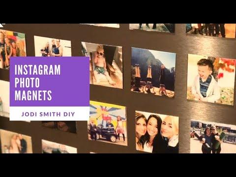 DIY Instagram Photo Magnets