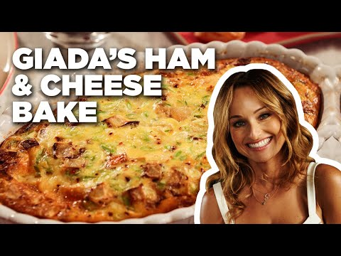 How To Make Giada's Ham And Cheese Bake | Food Network
