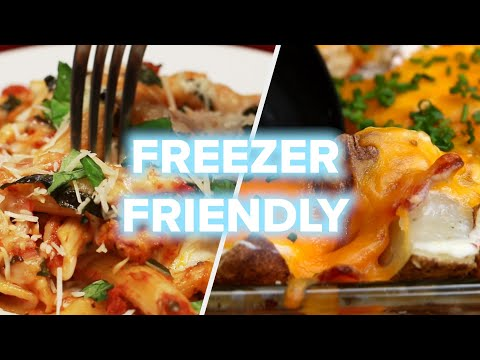 5 Freezer-Friendly Dinners You Can Prep On Sunday • Tasty