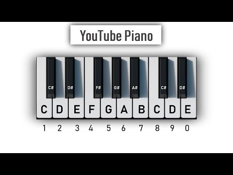 YouTube Piano – Play It With Your Computer Keyboard