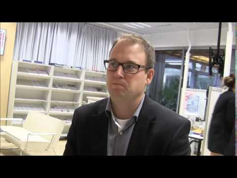Alihankinta 2014: Teemapuhuja Ponsse Oyj:n toimitusjohtaja Juho Nummela ja Scorpion harvesteri