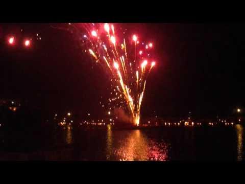 Musik und Licht am Hollersee Feuerwerksmusik by Händel 28.8.2016
