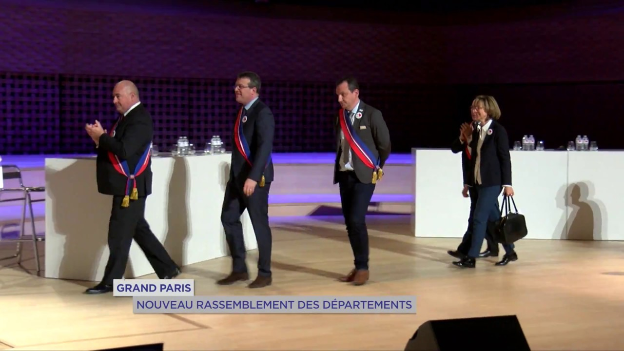 Grand Paris : nouveau rassemblement des départements