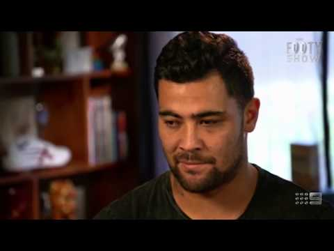 NRL star Andrew Fifita reveals he tried to commit suicide by throwing himself out of a 20-storey bu
