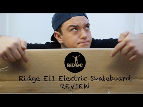 Ridge Skateboards EL1 Electric Skateboard - Review