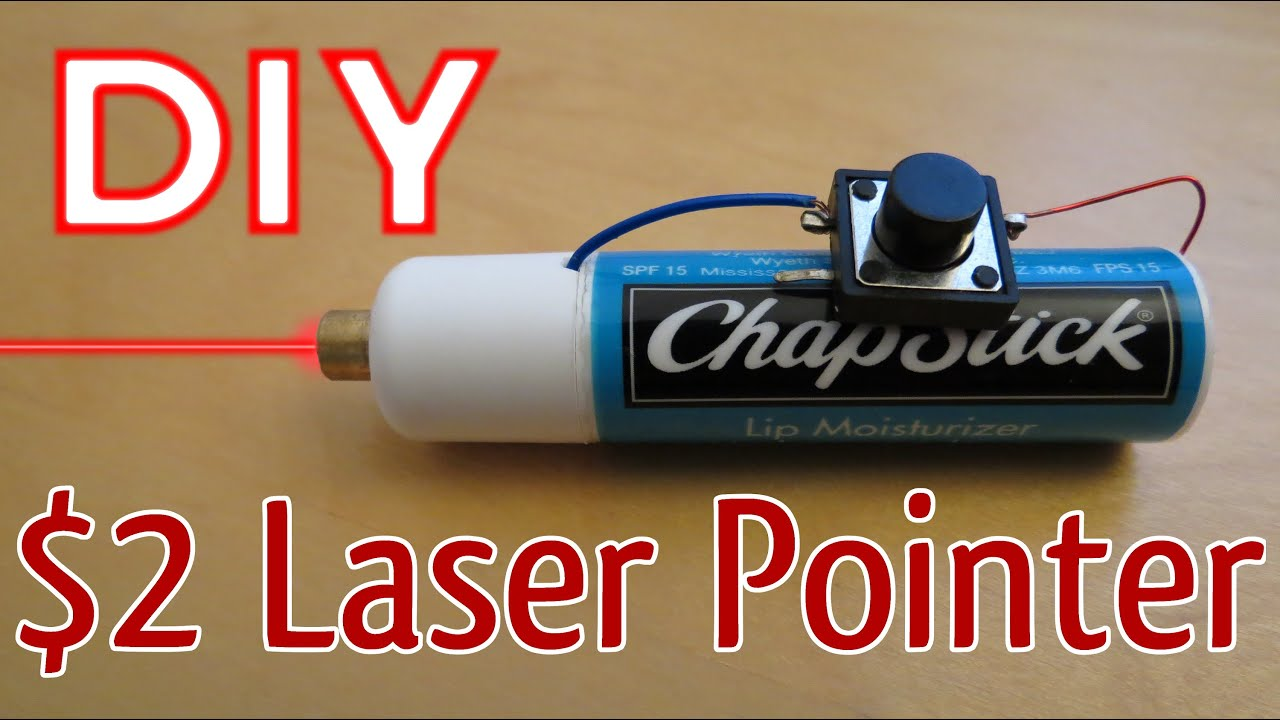 how to make a laser pointer youtube