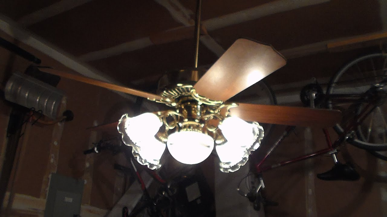 1985 Casablanca Panama 5 Ceiling Fan Part 1 Youtube