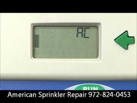 Hunter Controller Troubleshooting American Sprinkler Repair Flower Mound 972-824-0453