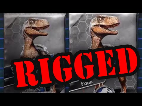 Jurassic World Live Arena Prizes Are Rigged?!?