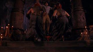 Лю Канг, Соня и Джонни Кейдж против толпы бойцов. СМЕРТЕЛЬНАЯ БИТВА. 1995