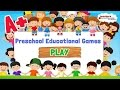 ABC Preschool Games For Kids - Educational Education - Laters words, animals Writing game