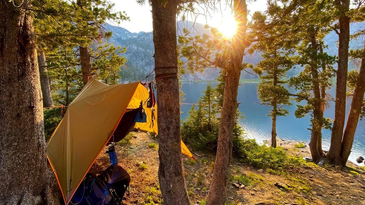 Hammock Camping at Ice Lake with OneTigris Kompound
