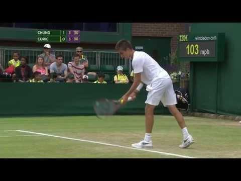 Borna Coric v Hyeon Chung (Jr  Wimbledon QF)