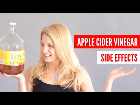 Apple Cider Vinegar Side Effects - Anxiety, Heart Palps, Dizziness, High Histamine  - Earth Clinic