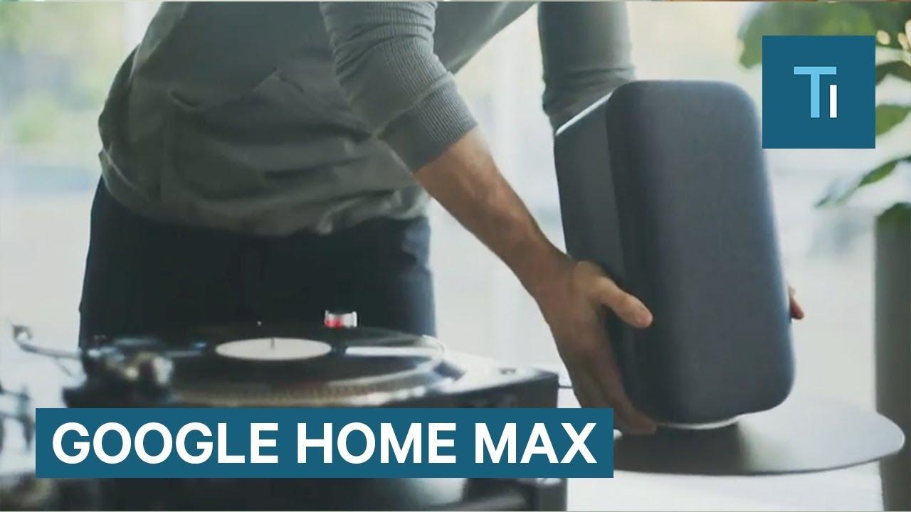 google home max is a 399 smart home speaker. Black Bedroom Furniture Sets. Home Design Ideas