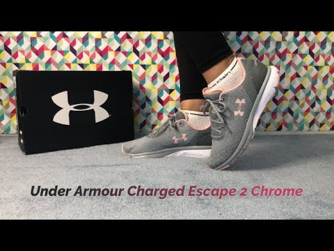 REVIEW Of UNDER  ARMOUR Charged ESCAPE 2 Chrome Women's Runners.
