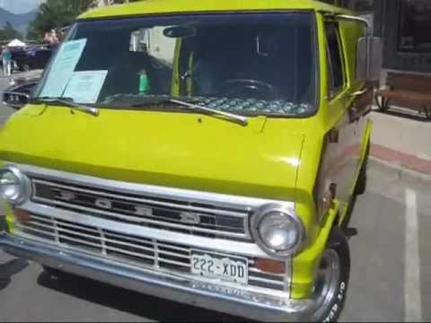 e998ea4d4617e6 1973 Ford Econoline E100 Van - YouTube