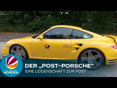 """Ab geht die Post: Deswegen pimpte ein Riesen-Fan aus Hamburg seinen Flitzer zum """"Post-Porsche"""""""