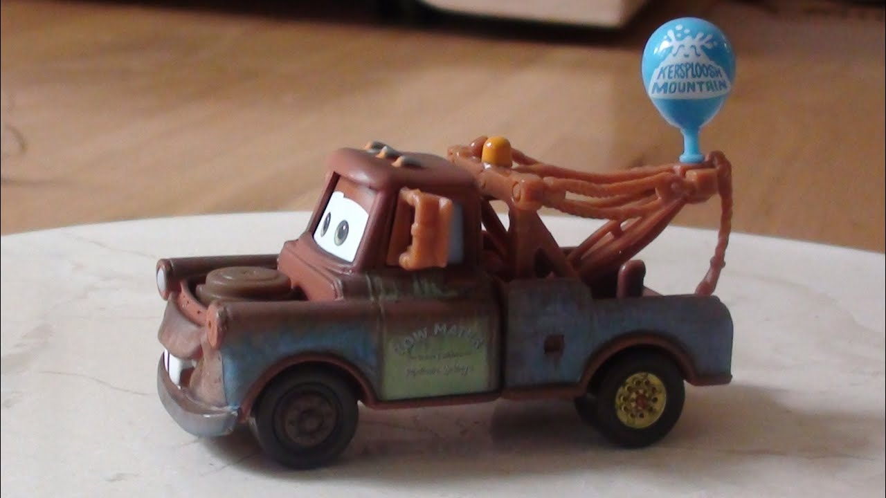 Mater with Balloon Unboxing and Discussion - Pixar Cars Price ...