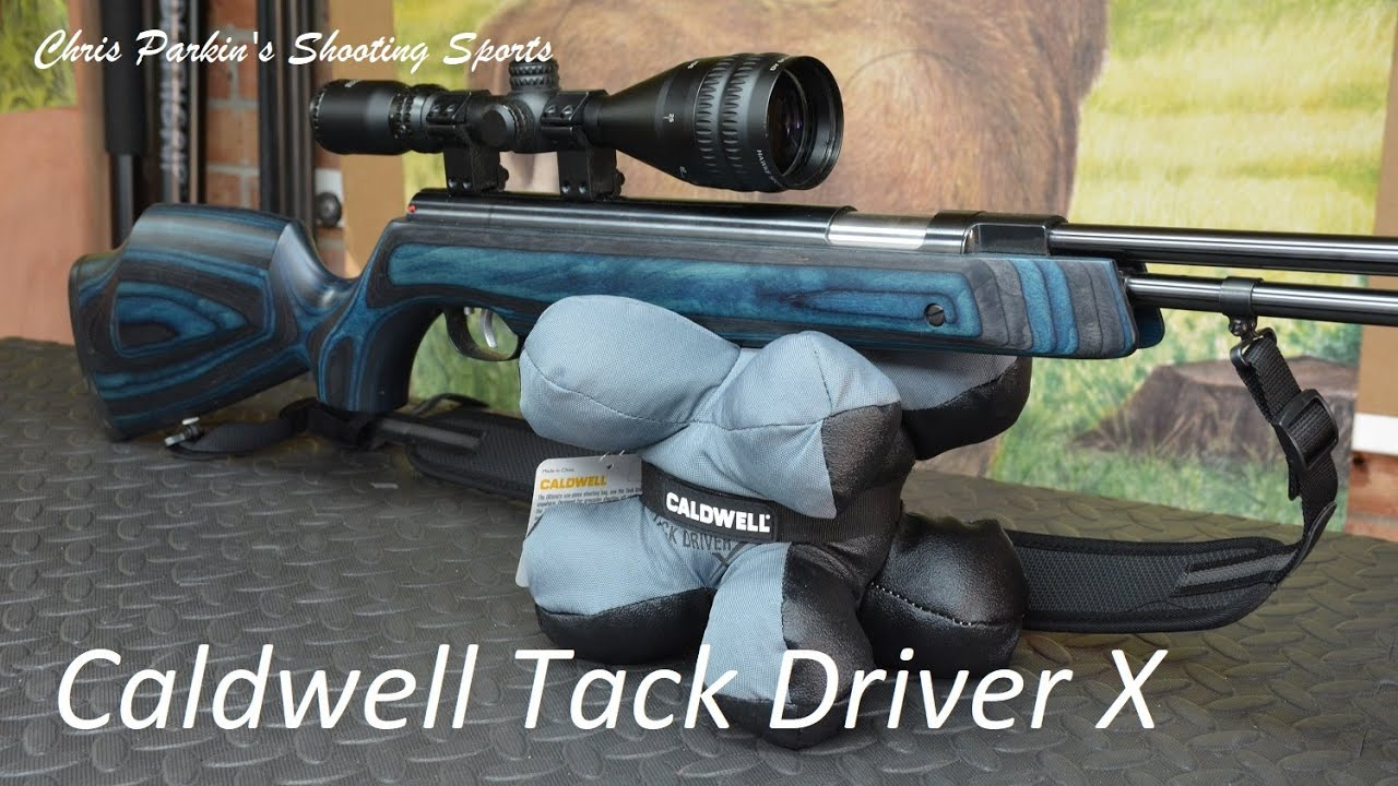 Caldwell Tack Driver X Rifle Rest Bag, Unboxing