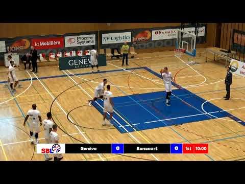 SBL Cup - Day 1: Genève vs. Boncourt