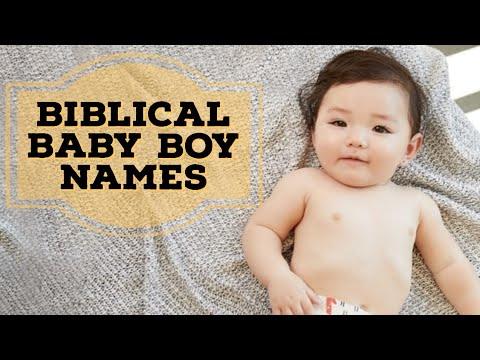 Biblical Baby Names, Christian Boy Names | Amazing 25 Biblical Baby  Boy Names