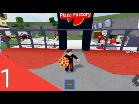 Pizza Factori Roblox Ep 1 Youtube
