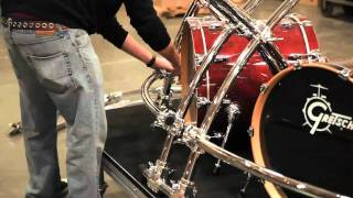 Building The Namm 2012 Drum Rack: Gibraltar Hardware
