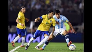 Argentina Vs Brazil (1-1) Highlights - 2018 World Cup Qualification (CONMEBOL)