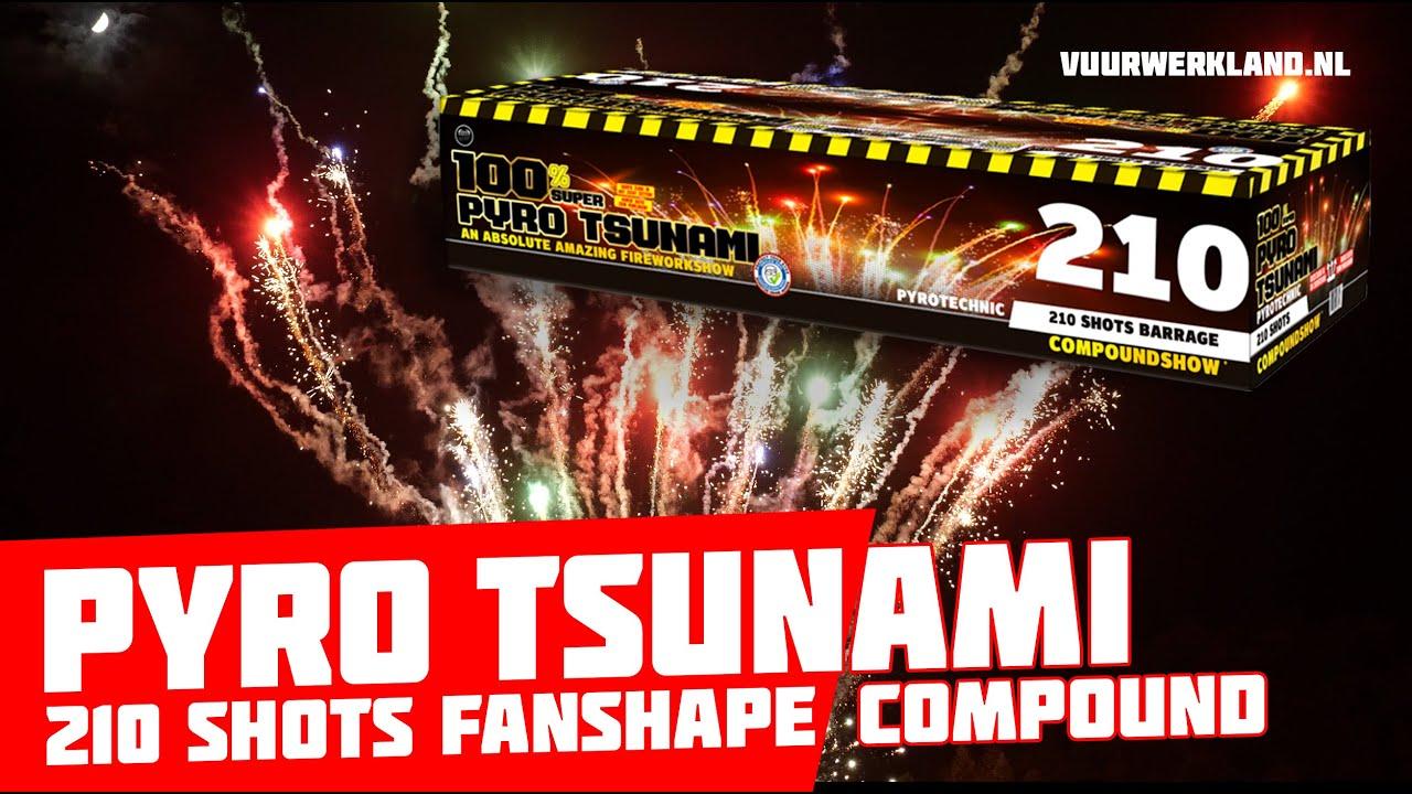 7754 Pyro Tsunami, visueel oorverdovend!