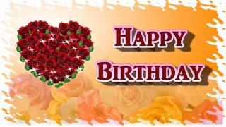 Скачать Happy Birthday My Dear Sweet Heart Video Greeting Card For Love