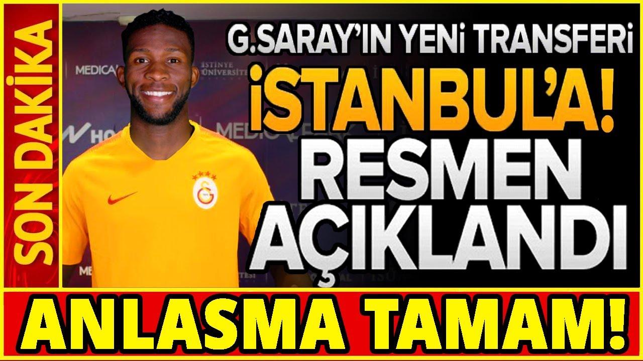 Galatasaray'ın Yeni Transferi İstanbul'a! Resmen Açıklandı... (HAYIRLI OLSUN!)