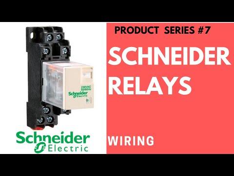 Rxm2lb2bd Rxm4lb2bd Ii Schneider Relay Wiring Ii Youtube