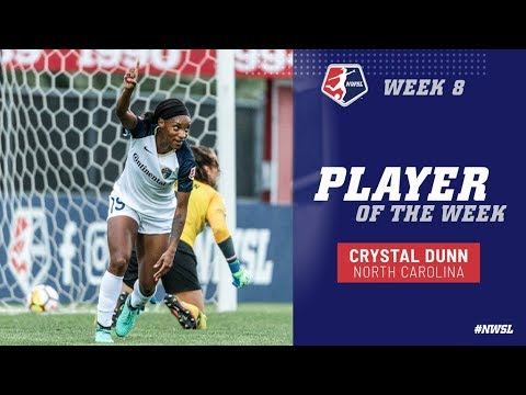 Week 8 Player of the Week | Crystal Dunn, North Carolina Courage