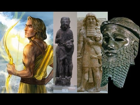 GILGAMESH FIGURINE IN DELPHI - Proof Apollo Is Nimrod
